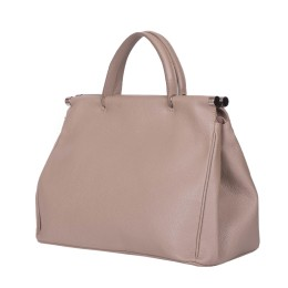 Дамска чанта от естествена кожа Camila, бежова