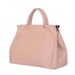 Дамска чанта от естествена кожа Camila, розова