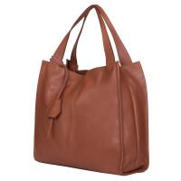 Дамска чанта от естествена кожа Naomi, коняк