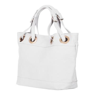 Дамска чанта от естествена кожа Stella, бяла