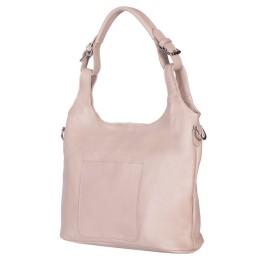 Дамска чанта от естествена кожа Serena, бежова