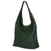 Дамска чанта от естествена кожа Aida, зелен