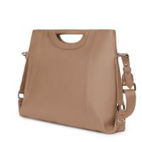 Дамска чанта от естествена кожа Agatha, бежова
