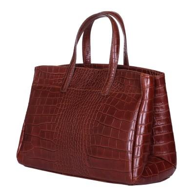 Чанта от естествена кожа Antonia, кафява
