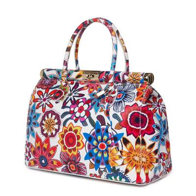 Чанта от естествена кожа Gioia FF5