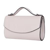 Чанта плик от естествена кожа Laura, светло бежова