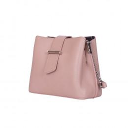 Кожена чанта тип портмоне Avery, розова