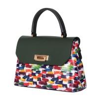 Кожената чанта тип портмоне Beatrice, зелена