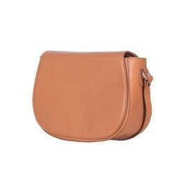 Кожена чанта тип портмоне Emma, коняк