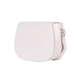 Кожена чанта тип портмоне Emma, светло бежова