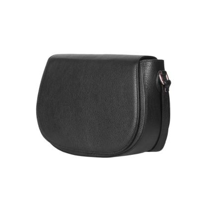 Кожена чанта тип портмоне Emma, черна