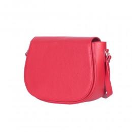 Кожена чанта тип портмоне Emma, червена
