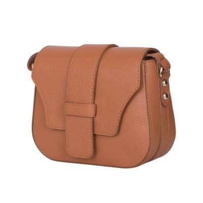 Чантата тип портмоне от естествена кожа Tracy, коняк
